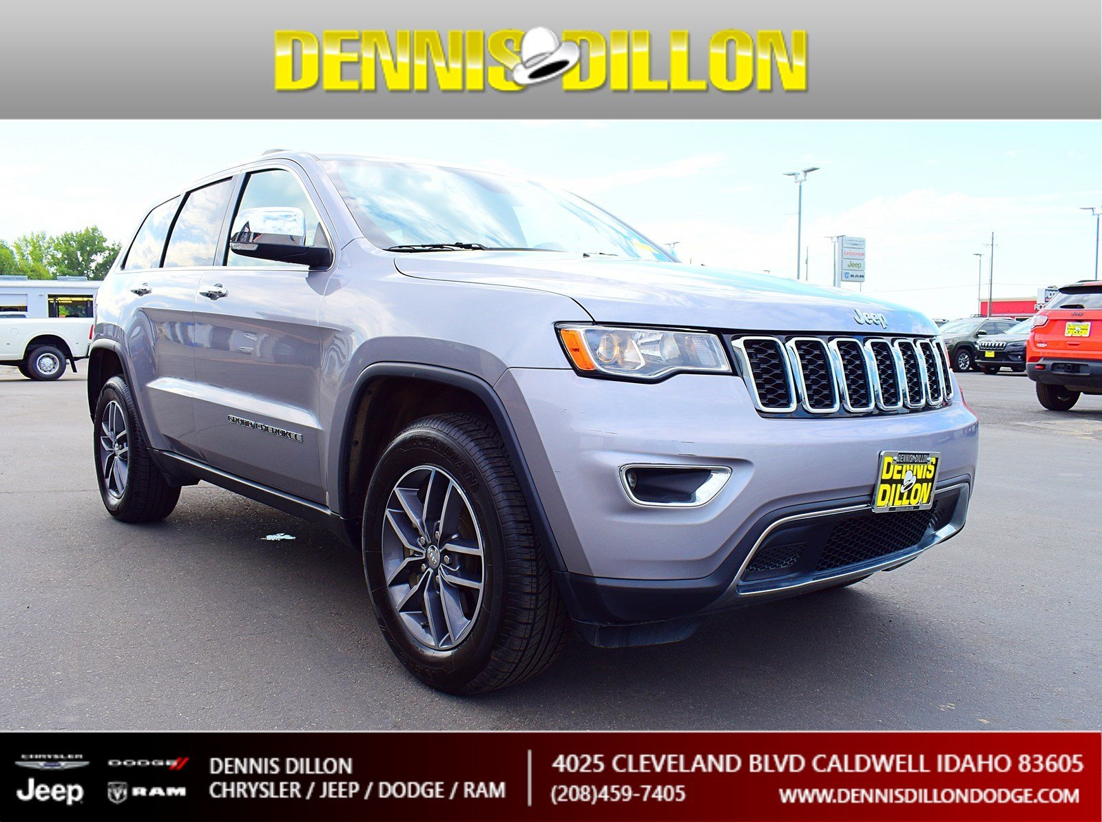 Certified Pre-Owned 2018 Jeep Grand Cherokee Limited