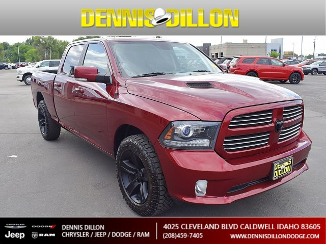 2016 Ram 1500 Sport >> Certified Pre Owned 2016 Ram 1500 Sport With Navigation 4wd