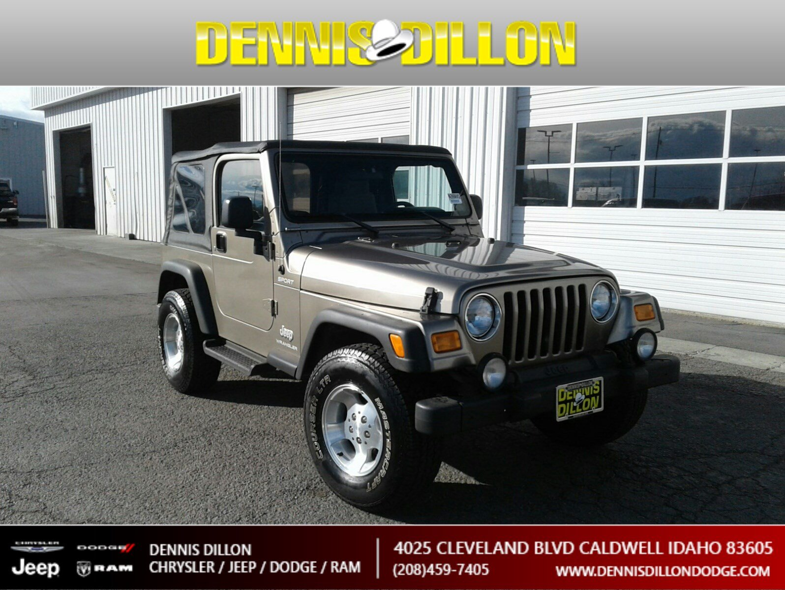 Pre-Owned 2003 Jeep Wrangler Sport