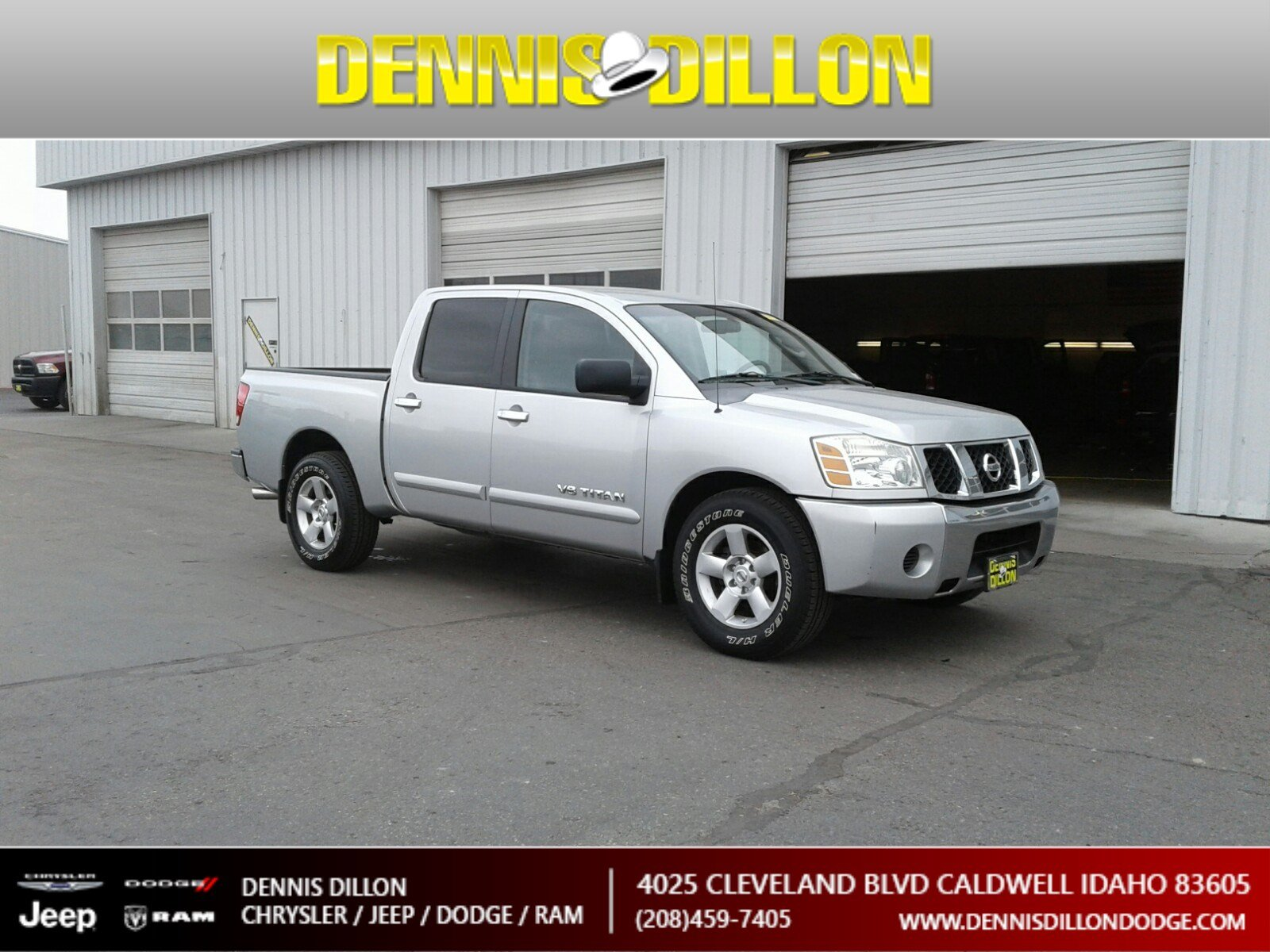 Pre Owned 2007 Nissan Titan Se Crew Cab Pickup In Caldwell 2k0041a