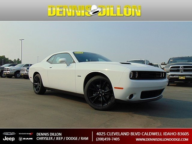 New 2018 Dodge Challenger R T Coupe In Caldwell 4j0760 Dennis