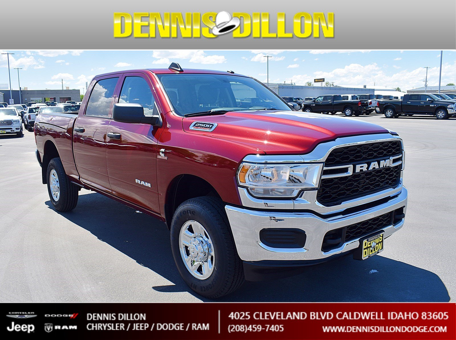 Dennis Dillon Dodge >> New 2019 Ram 2500 Tradesman Crew Cab 4x4 6 4 Box