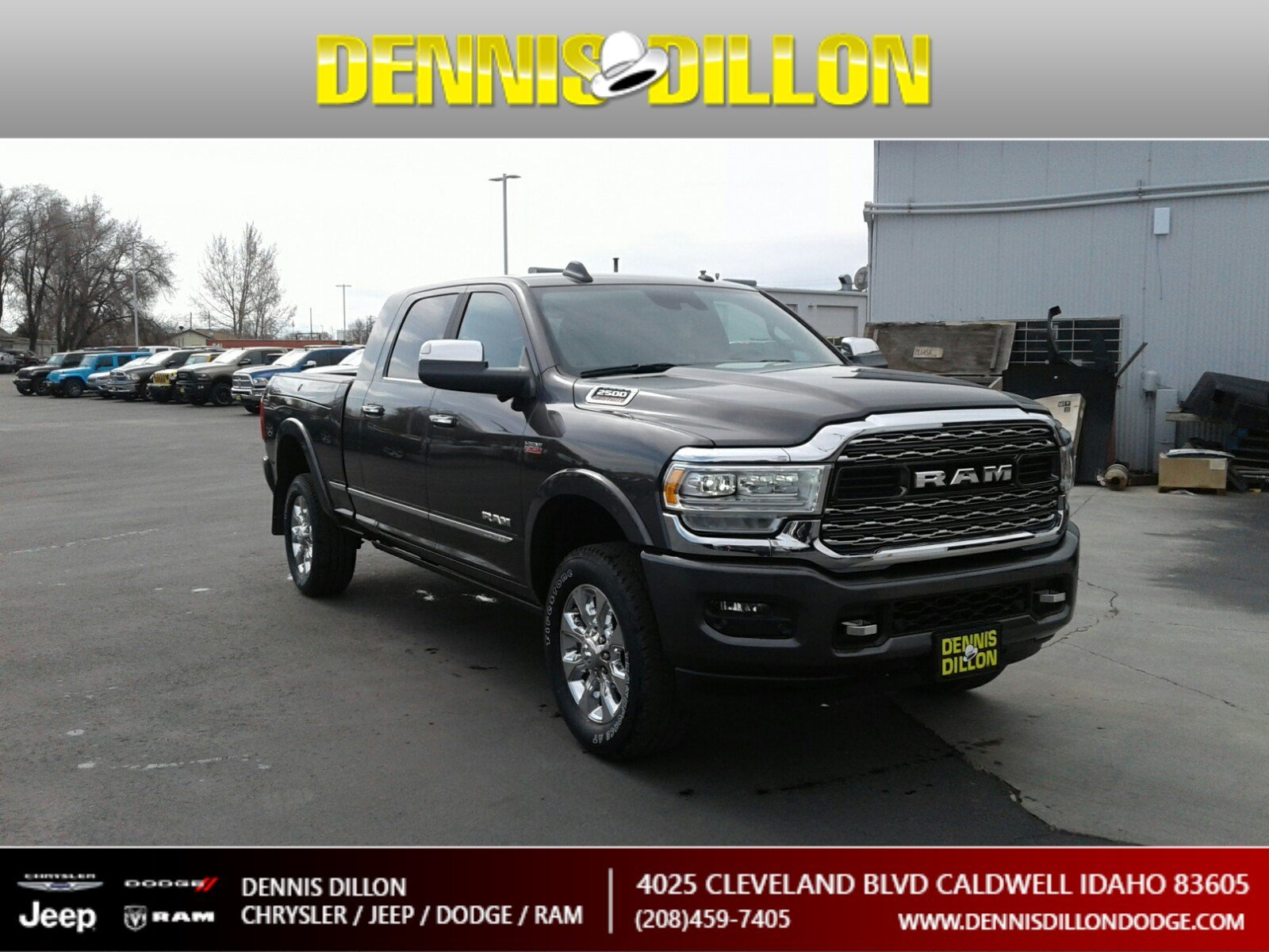 Dennis Dillon Dodge >> New 2019 Ram 2500 Limited Mega Cab 4x4 6 4 Box