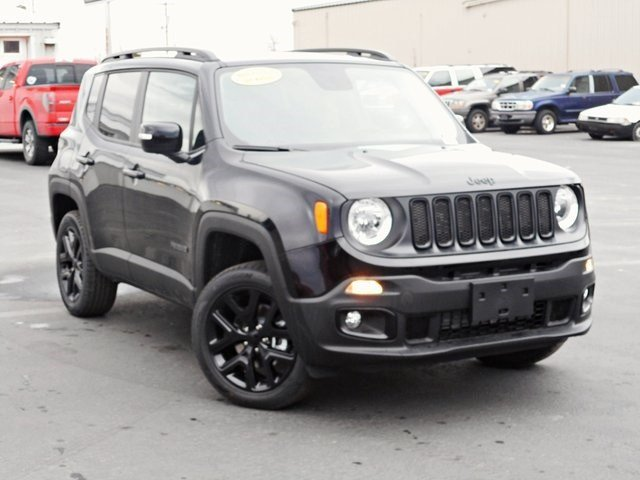 New 2017 JEEP Renegade Altitude