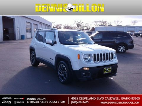 Pre-Owned 2017 Jeep Renegade Limited